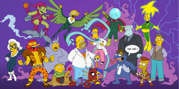 Comic Book-Cartoon Sitcom Mashups