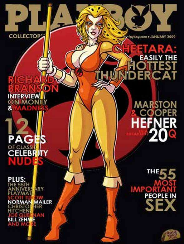 Cartoon Playboy Covers