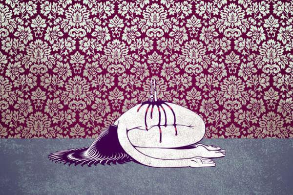 Grotesque Nightmarish Illustrations