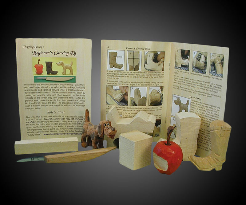 DIY Wood Carving Kits