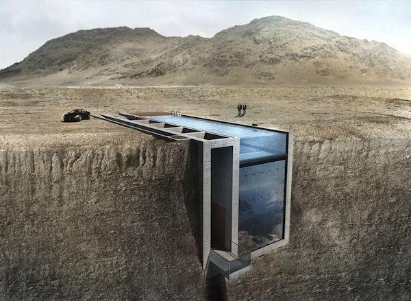 Subterranean Cliff Houses
