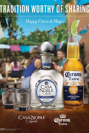 Co Branded Beverage Ads Casa Noble Tequila Ad