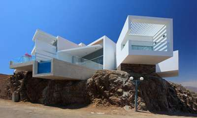 Multi-Faceted Hillside Homes