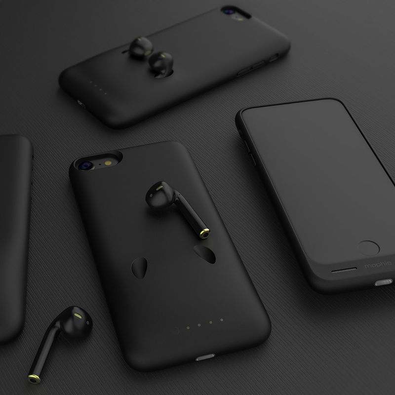 Headphone-Charging Smartphone Cases