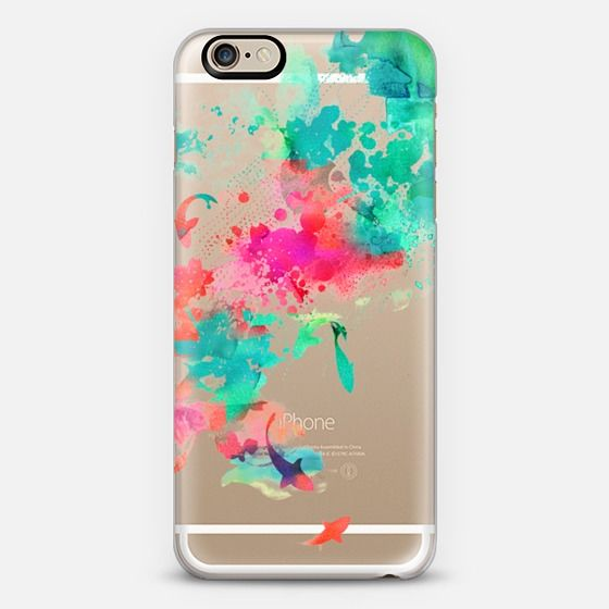 Artfully Transparent Phone Cases