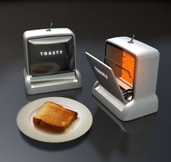 Casette Deck Toaster