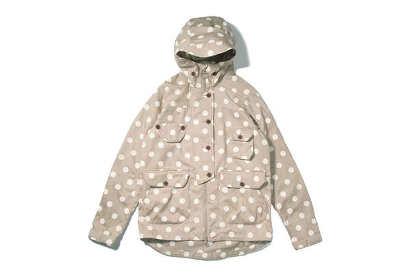 Micro-Pore Polka Dot Jackets