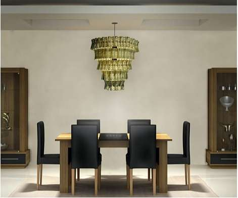 Lighting Made From Cash