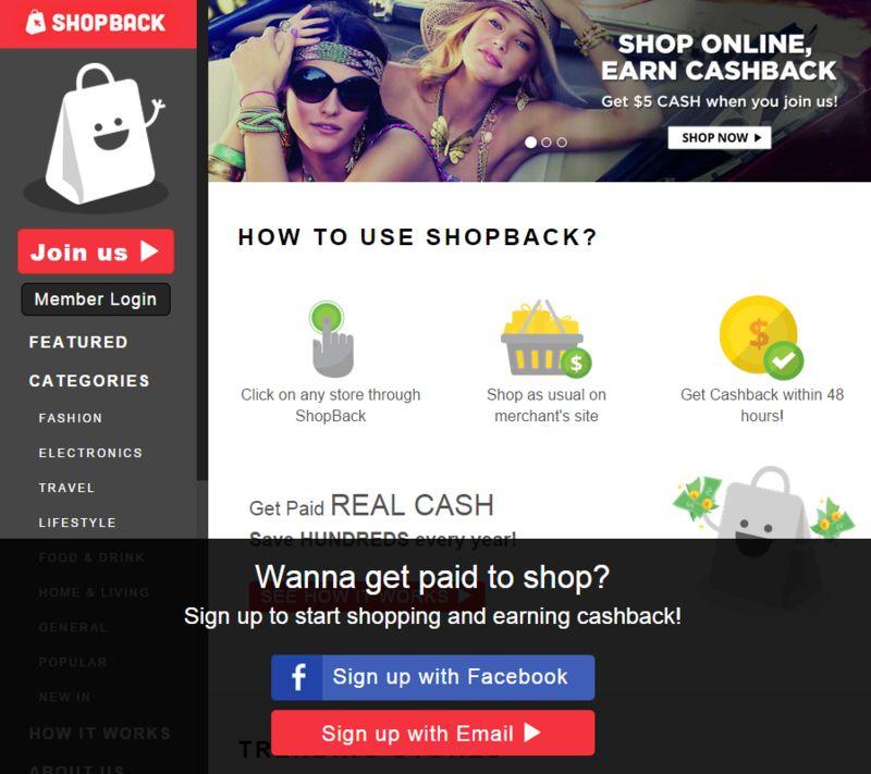 Cashback Shopping Platforms