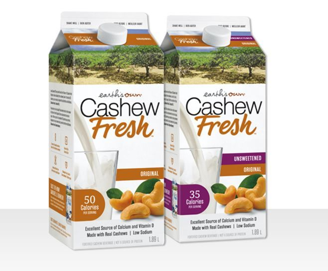 Organic Cashew Milks
