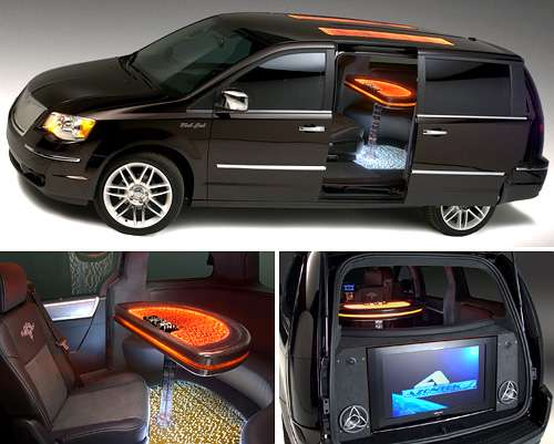 Casino Themed Chrysler Minivan