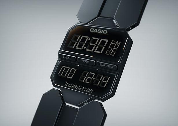 Beveled Retro Wristwatches