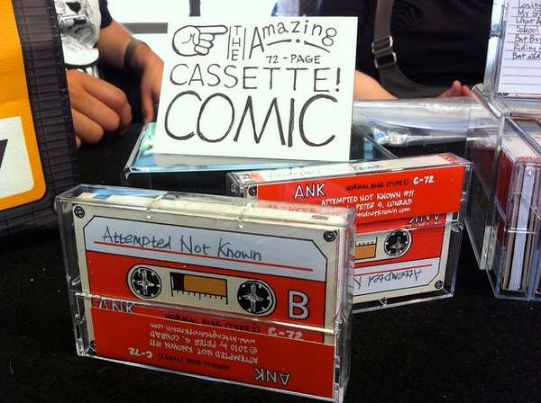 Cassette Tape Comics