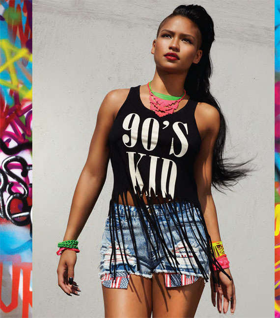 L.A. Street Style Collaborations : Cassie x Forever 21 ...