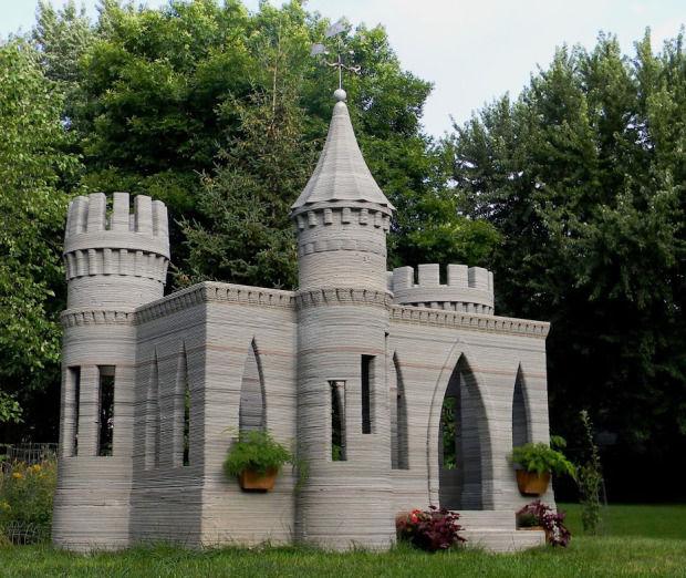 3D-Printed Castles : Castle Design