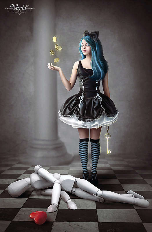Twisted Fairy Tale Art