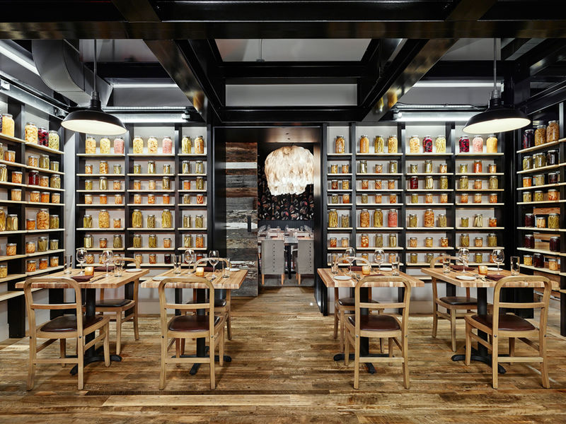 Industrial-Chic Restaurants