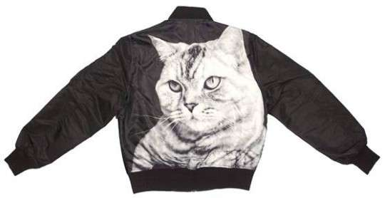 Devious Graphic Feline Jackets