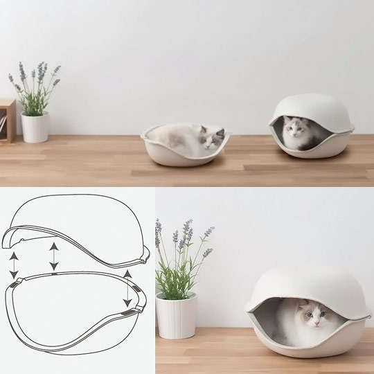 Pod Shaped Pet Beds