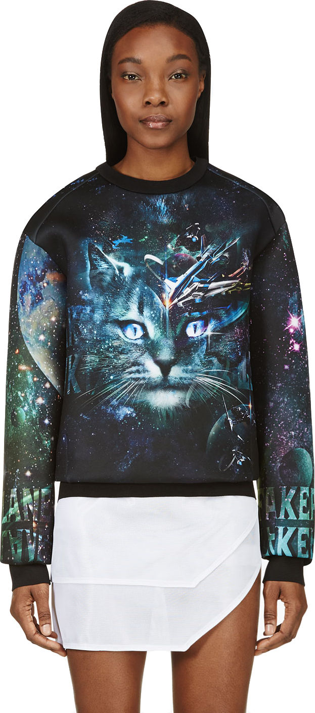 Cosmic Cat Sweatshirts