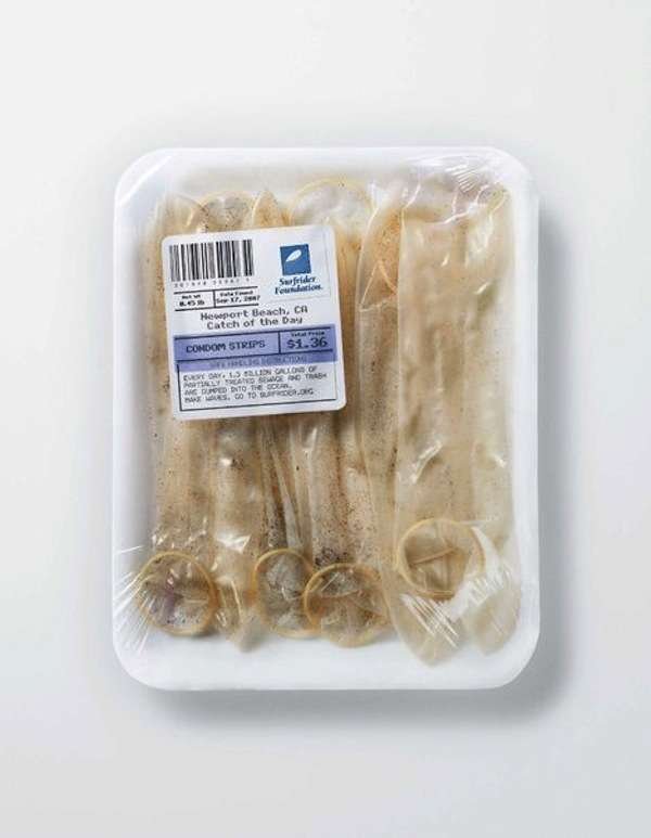 Packaged Ocean Trash Campaigns