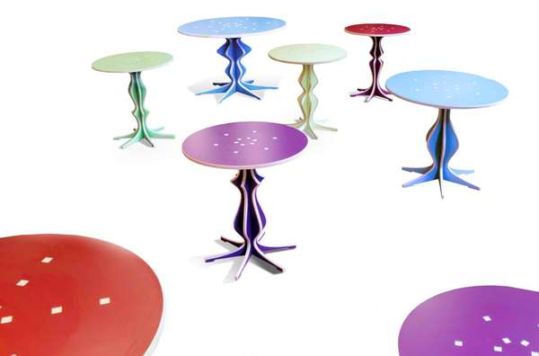 Caterina Tiazzoldi Fabulesque tables