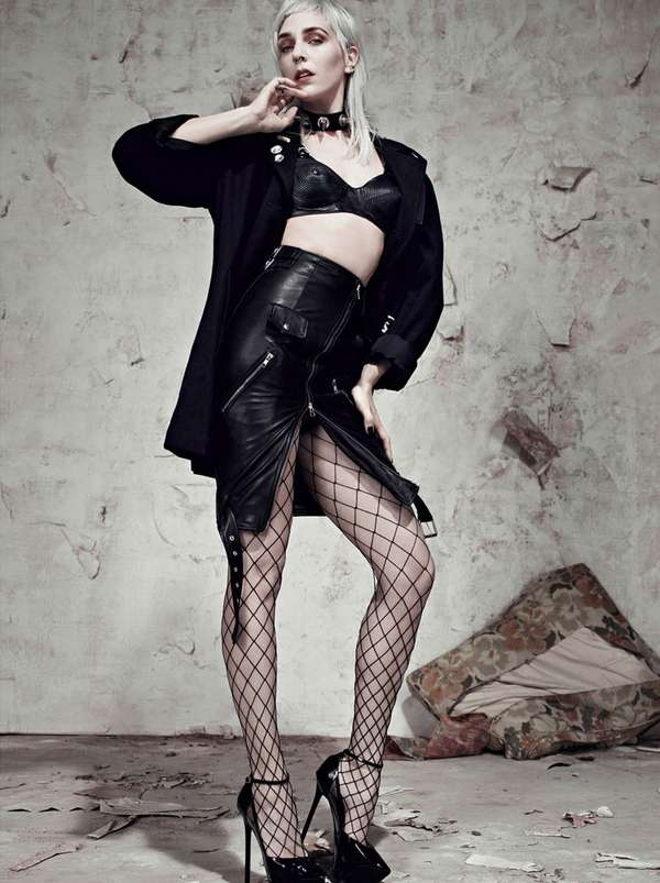Risque Rocker Editorials