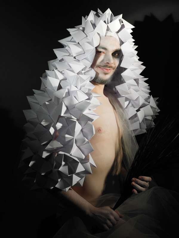 Papercraft Mens Headdresses