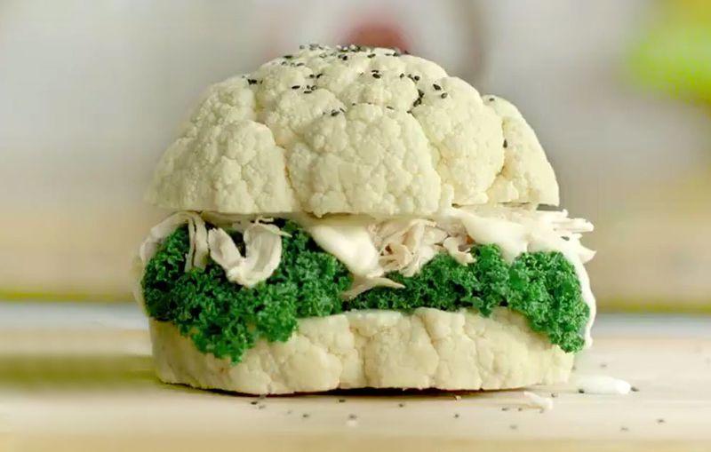 Cauliflower Burger Pranks
