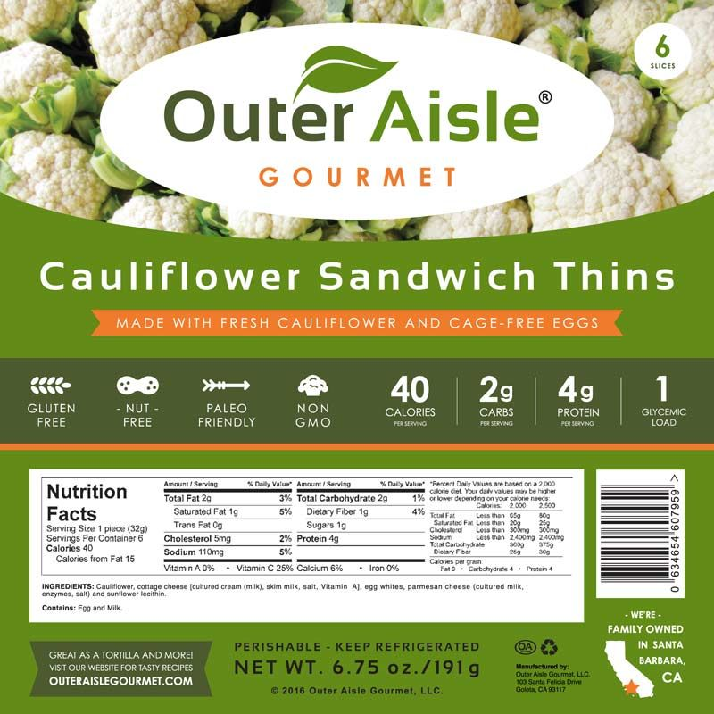 Gluten-Free Sandwich Thins