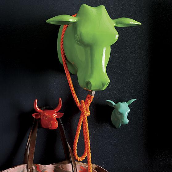 Animalistic Coat Hook Decor