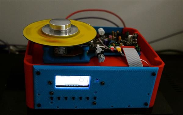 3D-Printed CD Players