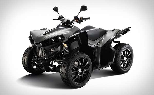 Cool Four Wheelers : Mean terrain four wheelers cectek king cobra atv