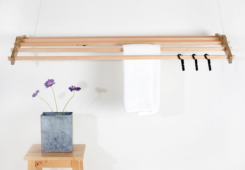 Retractable Laundry Hangers Ceiling Mounted Rack