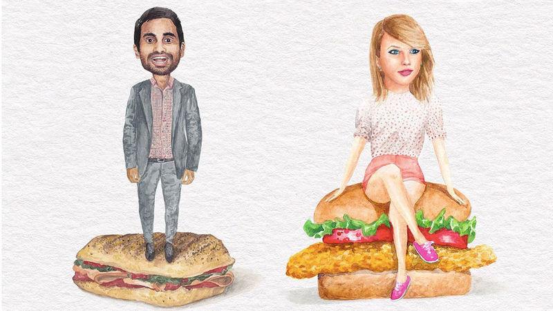 Celebrity Sandwich Art