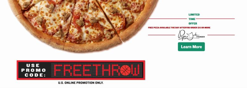 Basketball Season Pizza Promotions