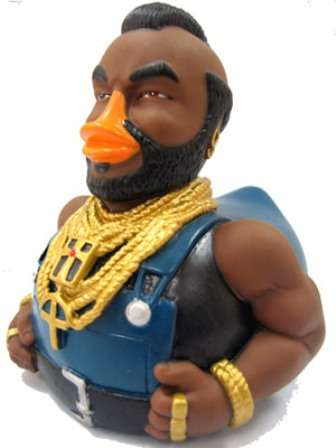 Mr T Bath Toys Celebriducks