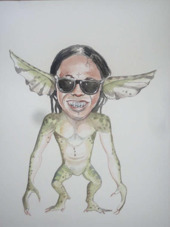 Celebrity Animal Hybrid Art