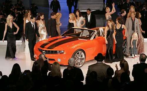 Celebrity Fashion Car Show