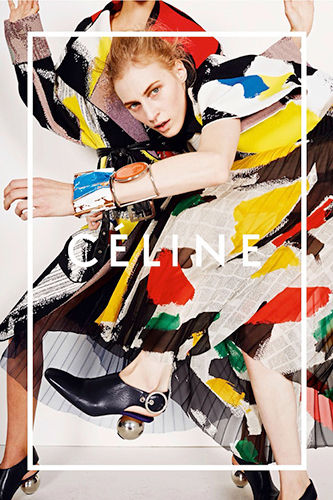 Artistically Vibrant Fashion Ads