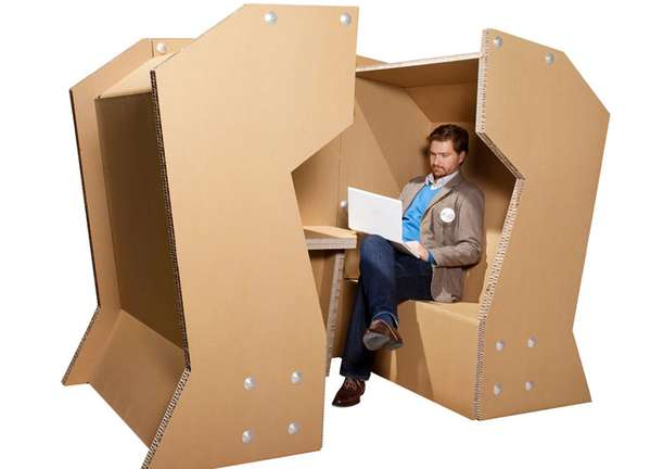 Cardboard Conference Cells
