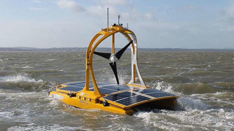 Autonomous Solar-Powered Catamarans