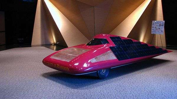 Angular Solar Cars