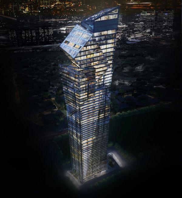Segmented Skyscraper Architecture