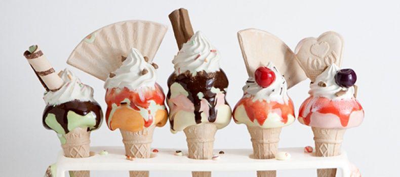 Realistic Ice Cream Art