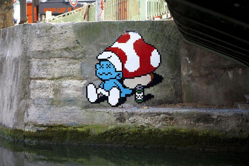 8-Bit Street Art