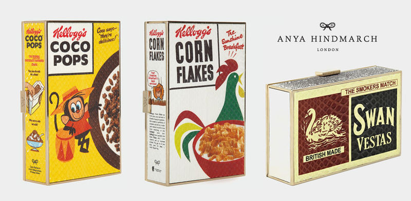 Vintage Cereal Clutches