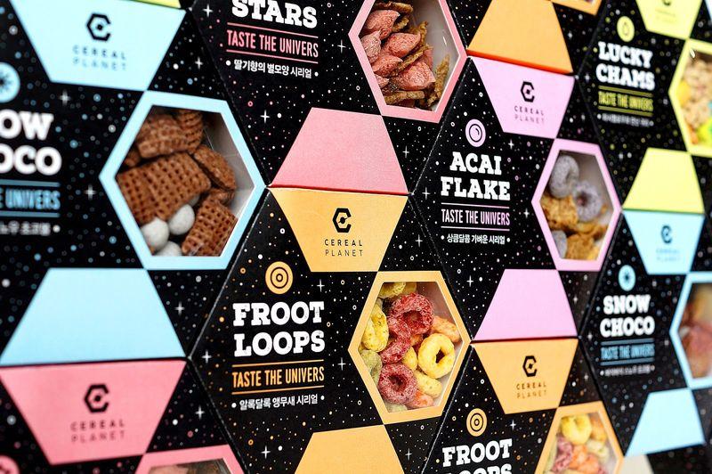 Hexagonal Cereal Packaging