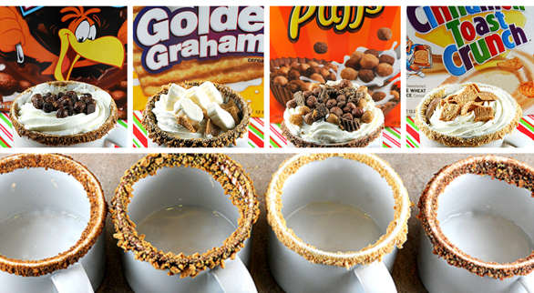 Cereal Hot Chocolate