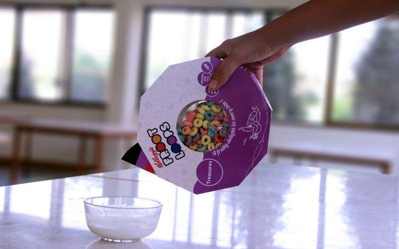 Polygonal Cereal Packaging
